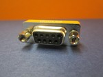 DB9 MALE TO FEMALE NULL MODEM ADAPTER