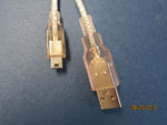 6' USB 2.0 A TO 4-PIN MINI