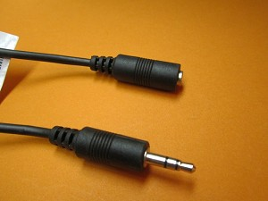 12' 3.5mm STEREO CABLE M/F