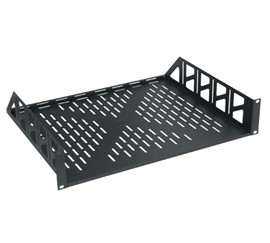 "2U 15"" DEEP VENTED RACK SHELF"