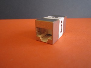CAT 6 RJ45 FULL SHIELDED INLINE COUPLER