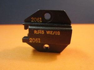 DIE SET 2061 FOR CRIMPER RJ45 WE/SS